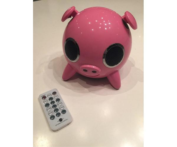 højtaler gris