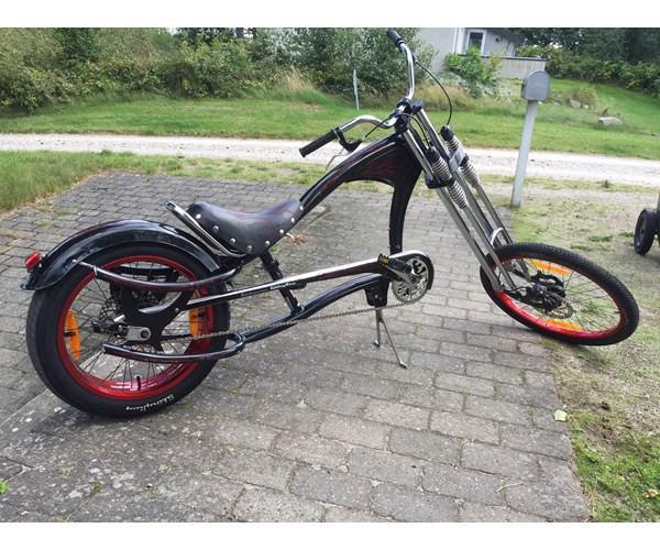 Herrecykel, Schwinn Sting Ray chopper, 1 gear Sjov Schwinn Stingway chopper cykel sæl..