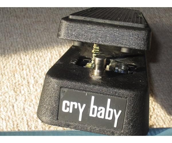 Crybaby Wahwah Jim Dunlop Original Jimdunlop