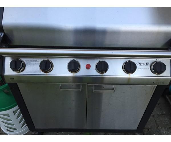 Billig Gasgrill Med Lavasten : Kæmpe gas grill