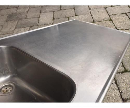 stålbordplade til udekøkken