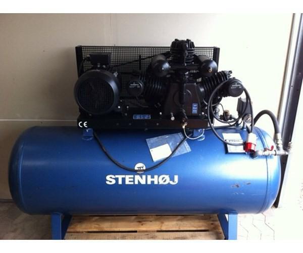Dejlig Kompressor, Stenhøj Type KA 112 med: 500liter beholder, 10 hk VG-01